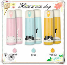 500ML Stainless Steel Travel Mug Water Coffee Bottle Flask Vacuum Thermos Cup
