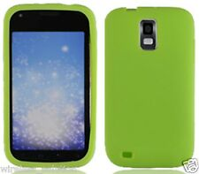 NEON GREEN Silicone Skin Gel Case for Samsung Galaxy S2 SGH-T989