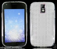 FROSTED CLEAR PATTERN TPU Protector Gel Case for Samsung Galaxy S2 SGH-T989