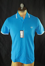 AUTH Fred Perry Men Twin Tipped Polo Shirt