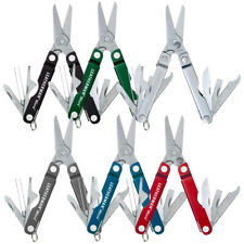 LEATHERMAN MICRA 10IN1 MULTITOOL SCISSORS KNIFE KEYCHAIN STANLESS | ASS COLOURS