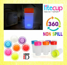 Mobility Disability Aid No Non Spill Proof Drinking Sippy Nightlight Cup Beaker