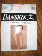 New DANSKIN Women's DANCE 1331 SHIMMERY Footed TIGHTS various colors / sizes