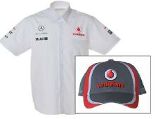 SHIRT and Cap Formula One 1 Vodafone McLaren Mercedes F1 NEW V07 U|S