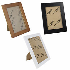 Weathered Distressed Solid Wood Picture Frames Plate Hang Wall Photo Frames