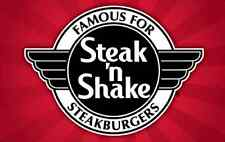 $25 Steak 'n Shake Gift Card for only $20 - mail delivery