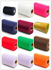 """HOT TULLE Roll UO Spool 2""""x25yd Tutu Wedding YS Craft Party Bow 12 Colours Pick"""