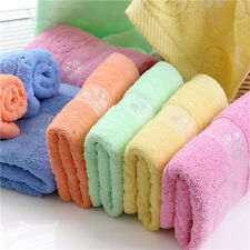 FD2325 Cotton Mushroom Print Soft Absorbent Cleansing Cloth Face Hand Towel 1PC♫
