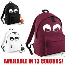 Dan and Phil Cat Whiskers Backpack - Vlogger School College Bag - Fashion Unisex