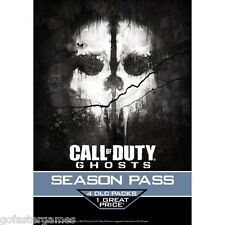 Call OF DUTY GHOSTS Stagione PASS Dlc Xbox One Xbox 360 Live