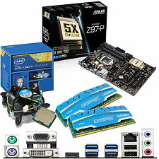 INTEL Core i3 4170 3.7Ghz & ASUS Z97-P & 16GB DDR3 1866 CRUCIAL
