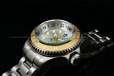 Invicta Men Reserve 52mm Hydromax Swiss Made GMT Stainless Steel Bracelet Watch