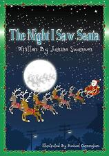 Personalised Childrens Story Book (THE NIGHT I SAW SANTA)