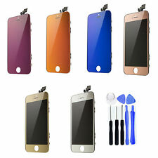 Mirror LCD Screen Replacement Digitizer Assembly Front Glass for iPhone 5G +TOOL