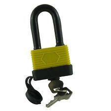 Long Shackle Waterproof Heavy Duty Steel Shackle Padlock - 50mm Shackle