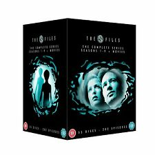 X FILES COMPLETE SERIES SEASONS 1,2,3,4,5,6,7,8,9  R4 55 DISCS NEW/SEALED