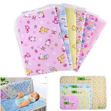 Baby Infant Diaper Urine Mats Reusable Organic Cotton Changing Cover Pads