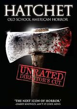 Hatchet (DVD, 2007, Unrated Director's Cut)