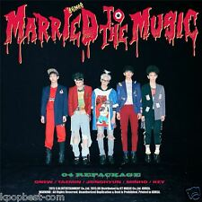 SHINEE - Married To The Music (4th Album Repackage) CD +Photobook+Poster+Gift