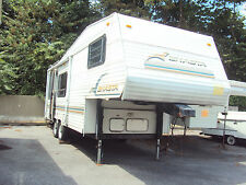 Shasta 25ft 5th Wheel Trailer Camper RV Needs Repair Clean Fix Save NO RESERVE