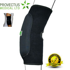 Black Breathable Padded Elbow Brace Arm Support Gym Wrap Sport Sleeve Athritis T