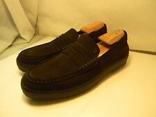 TOD'S SUEDE LOAFERS SHOES CASUAL MEN'S MADE IN ITALY SZ 8 FITS US 9.5