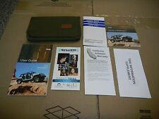 2014 JEEP WRANGLER OWNERS MANUAL SET WITH FREE SHIPPING