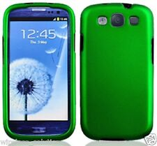 GREEN Snap-On Case Hard Cover for Samsung Galaxy S3 SIII