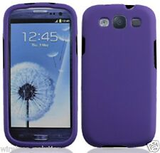PURPLE Snap-On Case Hard Cover for Samsung Galaxy S3 SIII