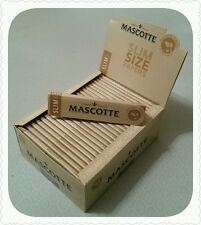 Mascotte-Natural Fibres - Organic - King Size Slim - 100% Natural - Unbleached
