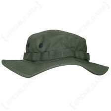 US Olive Green BOONIE Jungle Cap - All Sizes Military Army Vietnam Sun Hat
