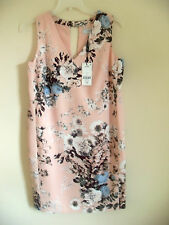 Women's Next Tailored Pink Floral Shift Dress, Size 8 & 10, BNWT