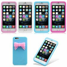 New 3D Cute Sculpture Soft TPU Silicone Rubber Case Cover Skin For iPhone 6 4.7""