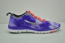 Womens Nike Free 5.0 TR Fit Wash Running Shoes Size 7.5 Purple White 653988 500
