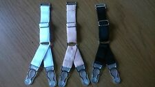 Set of Replacement Suspender Clips Double Y-Strap garters corset stockings retro