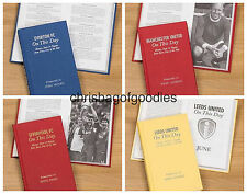 PERSONALISED Football Team Club FC ON THIS DAY Book History Gifts for 12 teams