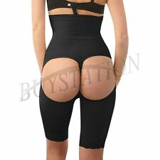 Black Leg Tummy Slimming Butt Lift Pants High Waist Girdle Body Shaper Underwear