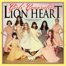 SNSD Girls' Generation - Lion Heart (5th Album) CD+Photobooklet+Photocard+Poster