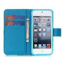 Fashion Flip Leather Wallet Case Cover w/ Card Holder Stand for Various Phones