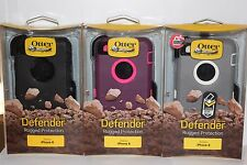 NEW! OtterBox Defender Series Case & Holster Clip For Apple iPhone 6S - 6 4.7""