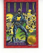 1993 SKYBOX MARVEL X-MEN XMEN SERIES 2 II - HAVOK #14 - SUPER HEROES