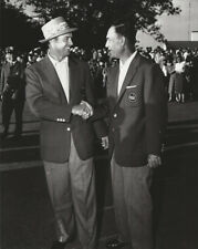 Golf 1954 Sam Snead & Ben Hogan 1954 wearing green jackets Photo Picture Print