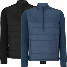 Callaway Opti-Series 1/4 Zip Fiber-Fill Thermal Pullover Mens Golf Jacket 2015