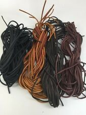 "72"" Rawhide Leather Shoe Boot Laces Shoelaces -1 lace"