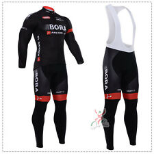 Equipacion ciclismo LARGA long Cycling Jerseys SET BORA maillot culotte MTB