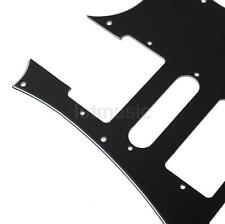 Electric Guitar Pickguard Scratch Plate For Ibanez Replacement Parts Black 3 Ply