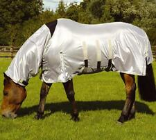 **NEW** Mark Todd Ultra Fixed Neck Combo Fly Rug - Silver **WAS £83.99**