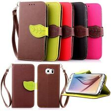 Hot Fashion Flip Stand Hybrid Wallet Leather Card Case Cover For Samsung Galaxy