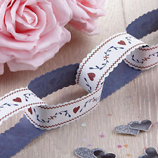 East Of India Paper Chain 3m Vintage Bunting Garland Wedding Birthday Decoration