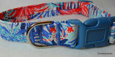 Lilly Pulitzer 2015 Multi Feeling Sparks Handcrafted Dog Collar -S/M/L- New